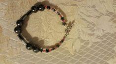 Magnetic Hematite Bracelet Hematite Bracelet, Beaded Bracelets, Jewelry, Jewlery, Jewerly, Pearl Bracelets, Schmuck, Jewels, Jewelery