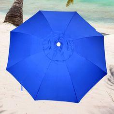 7.5' Fiberglass Heavy Duty Beach Umbrella