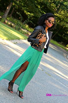 Fall Maxi Skirt Outfit: Fashion a La Mode Link Up - Lisa a la modeLisa a la mode