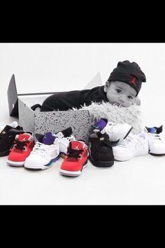 Jordan collection baby photo!! Super cute baby!!