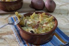 Pasta e patate al forno