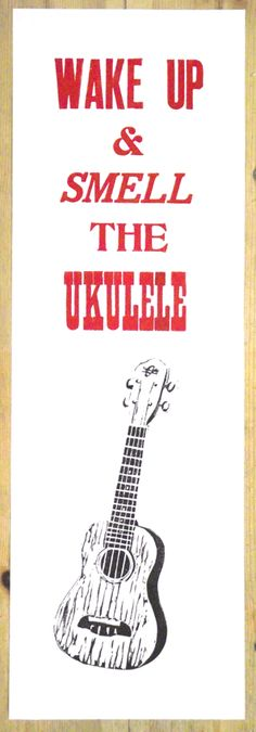 It's true--ukuleles do smell quite nice