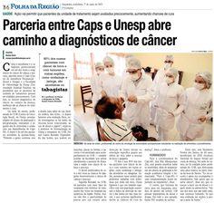 Parceria entre Caps e Unesp abre caminho a diagnóstico de câncer