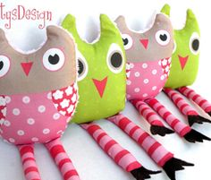 Whimsey Owl Fabric
