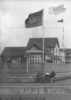 West Bay, The Refreshment Rooms 1918, from Francis Frith