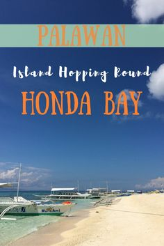 A day trip round the beautiful Islands of Honda Bay, Palawan. These are a must see if you're visiting the Philippines!
