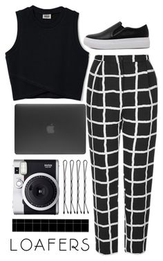 """""""Loafers"""" by xheartit101 on Polyvore featuring Topshop, WithChic, Incase and Fuji"""