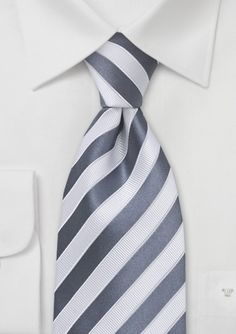 Designer Tie in Gray and White- this website is a great for ties for weddings