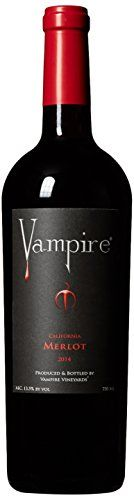 2014 Vampire California Merlot 750 mL * Click here for more details @ http://www.amazon.com/gp/product/B015OU4U9C/?tag=wine3638-20&pop=180816120058