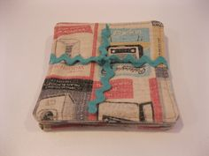 Vintage Appliances Fabric Coaster Set by TheQuiltersAlley on Etsy, $18.00 Fabric Coasters, Vintage Appliances, Coaster Set, Nest, Feather, Retro Print, Textiles, Contemporary, Unique Jewelry