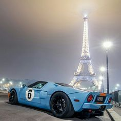 Press this pic and FOLLOW ME on Facebook! Epic! Ford GT40 vs Paris