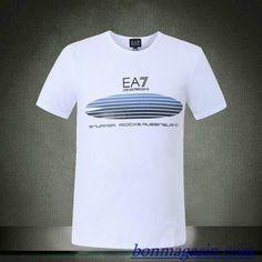 Vendre Pas Cher Homme Armani Tee Shirts H0113 En ligne En France.
