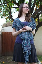 Ravelry: Lady Mary's Comfort Wrap pattern by Kristen Ashbaugh-Helmreich