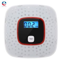 13.33$  Buy now - Voice Warning LCD CO Carbon Monoxide Tester Poisoning Sensor Alarm Detector  #magazine