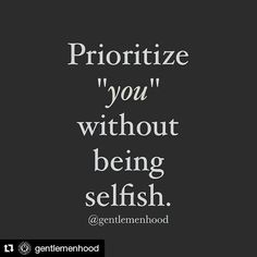 #Repost @gentlemenhood with @repostapp  Put yourself first when it's necessary. It's not always a selfish choice. #Gentlemenhood  Redd Ladys Inc.  www.reddladys.com  #CuttingTheFatMinistries #CookingTherapy #Empowerment #Encouragement #BeALADY #BeALADYSMan #LoveAndDesireYourself #GoodMorning #IAmReDD #IAmReDDProject