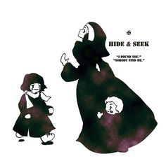 HIDE & SEEK かくれんぼ    (C)toosato (Chihiro Ikeda)