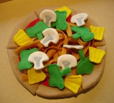 Locomoco or laulau anyone? Felt food Hawaiian style - TOYS, DOLLS AND PLAYTHINGS