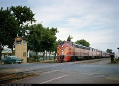 SP 6018 Southern Pacific Railroad EMD at Burlingame, California by John West Location Map, Photo Location, Train Engines, Back In The Day, One And Only, Locomotive, World War Ii, Burlingame California, North America