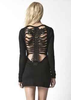 vertebrae dress. Glorious