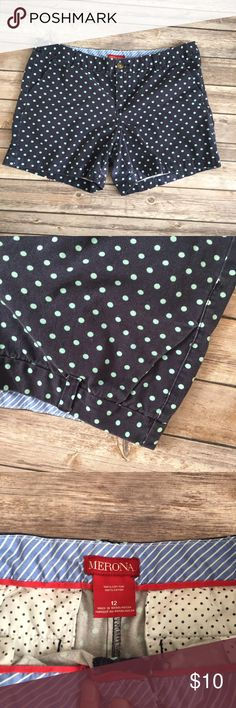 Old navy polka dot shorts size 12 Size 12. Minor signs of fading from wear (D2) Old Navy Shorts