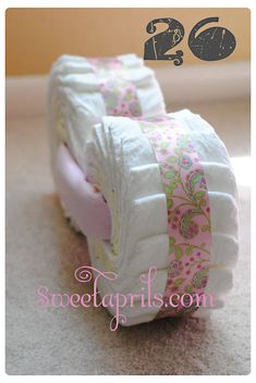 Once upon a time, I used to make Diaper Motorcycles. Then one day I got accepted into nursing school. That is when I decided why not make a...