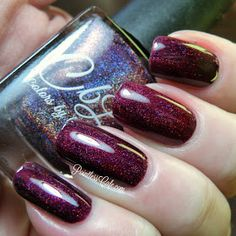 Pointless Cafe: Colors by Llarowe: Winter 2015 Collection - Swatches and Review | Berries in the snow
