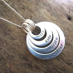 FOUR LOOP FAMILY NECKLACE