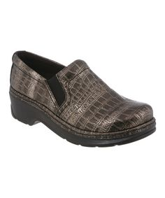 New Klogs Women's Naples Clog Silver Black Croc *** More info could be  found at the image url. Newport by Klogs Footwear ...