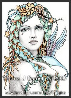 Fairy Tangles: Few New ACEO Size Fairy-Tangles™