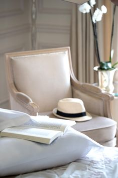 Summer at Beau-Rivage Palace Hotel Beau Rivage, Palace, Very Well, Accent Chairs, Summer, Furniture, Home Decor, Upholstered Chairs, Summer Time