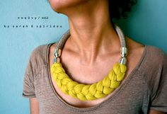 """Isabella"" necklace by noquvy ( Sarah spiridou athens ) 94€ http://www.etsy.com/shop/noquvy"