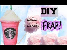 DIY Cotton Candy Frappuccino from Starbucks - YouTube