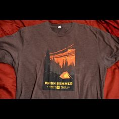 Men's L Phish Summer Tour Circa 2011 Tee No wear, never worn Shirts Tees - Short Sleeve