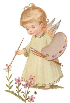 ❤️ Little Angel Angel Images, Angel Pictures, Vintage Christmas Cards, Vintage Cards, Christmas Angels, Christmas Art, Angels Among Us, Angel Cards, Guardian Angels