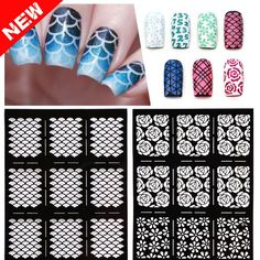 ADD TO CART NOW! Manicure Tools, Nail Tools, Art Template, Templates, Nail Stencils, Image Plate, Stamping Nail Art, Nail Art Stickers, French Nails