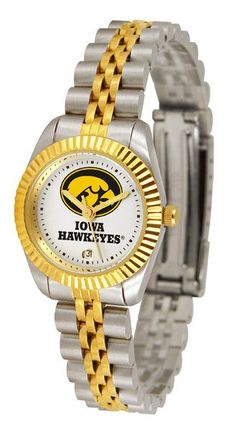 Iowa Hawkeyes Ladies Executive Watch