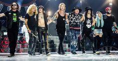 Teremos Guns n' Roses no Rio de Janeiro em Novembro!