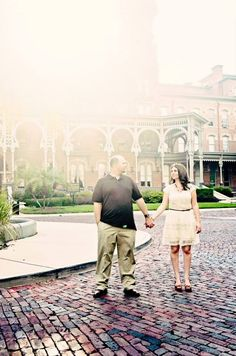 University of tampa engagement pictures
