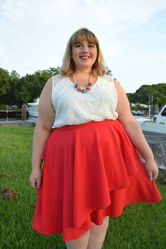 Super Style Me: Nautical Outfit for 4th of July - Plus Size Retro Fashion