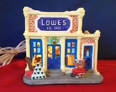 50th ANNIVERSARY LOWE'S LIGHTED VILLAGE STORE / BUILDING 1996 ...