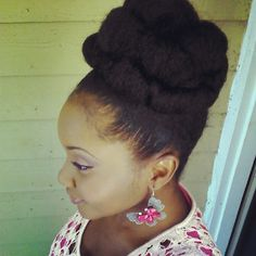 Tammy // 3C/4A Natural Hair Style Icon