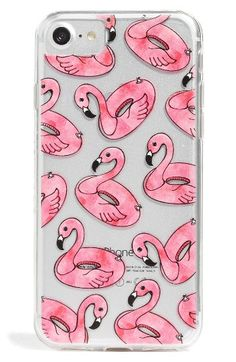Free shipping and returns on Skinnydip Flamingo Float iPhone Case (6/7 & 6/7 Plus) at Nordstrom.com. Even if the weather is cold and rainy, you can dream of pool swimming with this transparent hard-cover case covered in pink flamingo floaties.