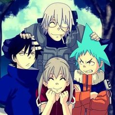I love it! #Naruto meets #souleater