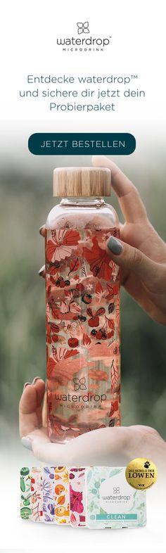 Waterdrop Probierpaket - Gale H. Vitamine C Serum, Cocktails, Drinks, Water Drops, Calories, Life Hacks, Low Carb Recipes, Smoothies, Brunch