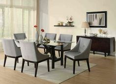 Dining room sets for sale in St. Find full dining sets, dining table sets, dining room sets and more. New furniture added weekly. Modern Dining Room Tables, Dining Room Furniture, Coaster Furniture, Dining Rooms, Dining Sets, Modern Furniture, Italian Furniture, Furniture Ideas, Modern Chairs