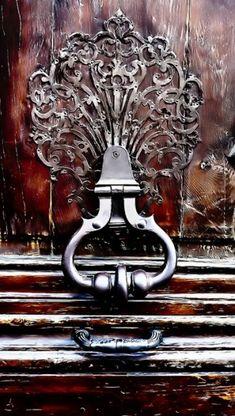 door knocker by celina.neo