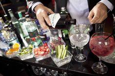 Make a DIY Gin and Tonic Bar and Throw a Wedding Bash Like a Brit! via @weddingfor1000