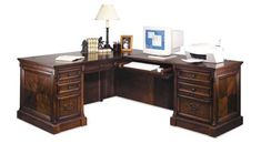 An executive desk typically becomes the centerpiece of a business space Building a solid and stable and stylish desk from