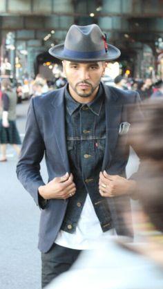 Denim hat tumblr Style men