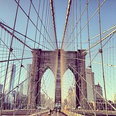 The Brooklyn Bridge remains a marvel. Come visit us and see it in person! NYC NYChotelTimesSquare TimesSquarehotel travel vacation
